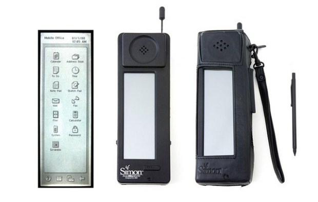 IBM Simon via softpedia.com