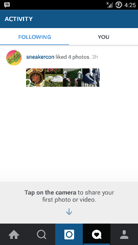 """Melihat apa yang teman """"Like"""" di Instagram"""