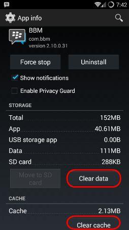 hapus cache aplikasi android_lemot