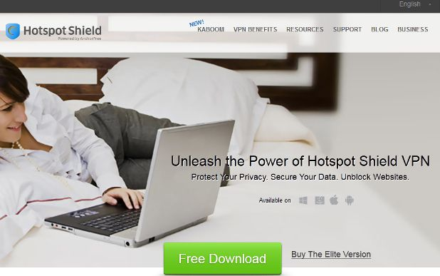 hotspotshield.com