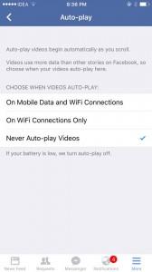 Matikan auto-play iOS