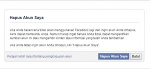 cara menghapus akun facebook secara permanen 1
