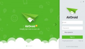 Install AirDroid di PC