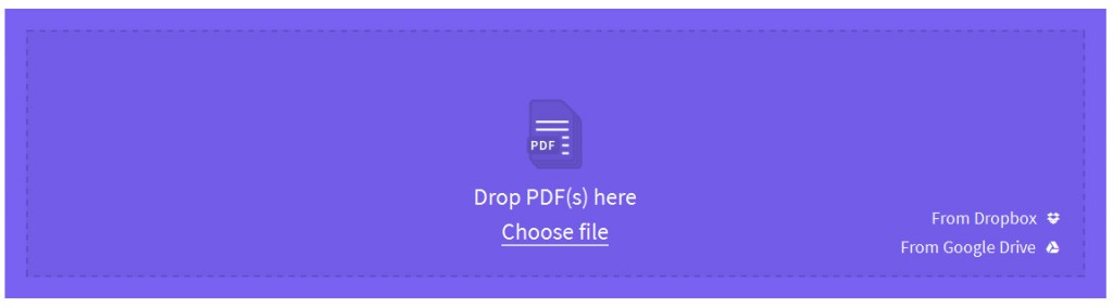 small pdf upload