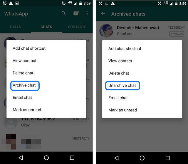 cara menyembunyikan whatsapp