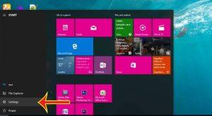 setting windows 10, Cortana