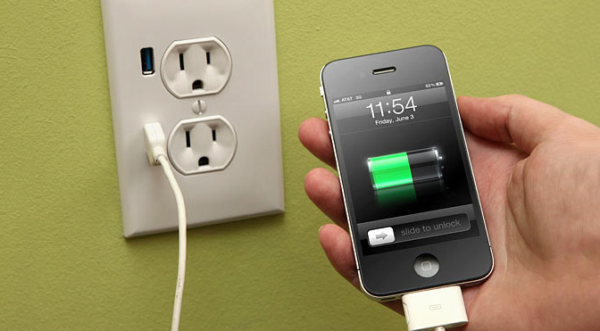 Jangan digunakan saat proses charging