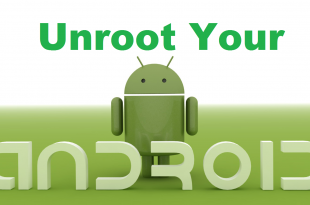 Cara Unroot Smartphone Android Dengan Mudah dan cepat