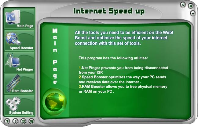 Instal Aplikasi Speed Up Internet