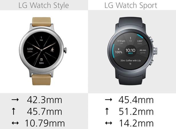 LG Watch Sport dan LG Watch Style
