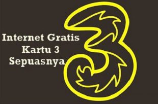 Cara Internet Gratis 3 Three Aon di Android dan Laptop atau PC