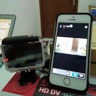 Cara Mudah Mengkoneksikan Action Cam (Go Pro, Kogan, Yi Cam) ke Smartphone Android