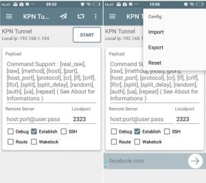 Cara Menggunakan KPN Tunnel di Android
