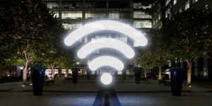Perhatikan lokasi router