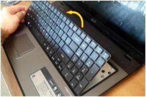 Touch Pad Dan Keyboard Rusak