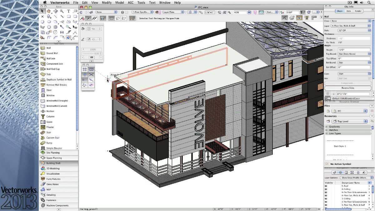 Vectorworks Architecture