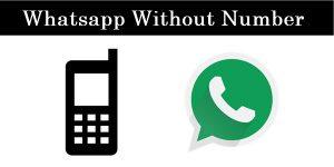 Cara Mudah Menggunakan WhatsApp Tanpa Nomor