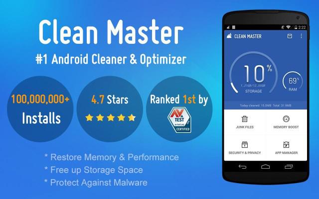 Gunakan Clean Master dan Reboot.