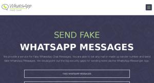 Instal WhatsApp Tanpa Verifikasi dengan Aplikasi Fake Messenger :