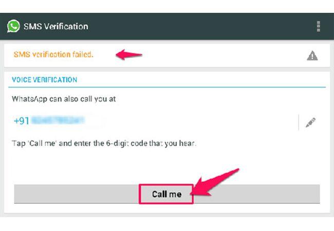 Instal WhatsApp dan Verifikasi dengan Nomor Palsu :