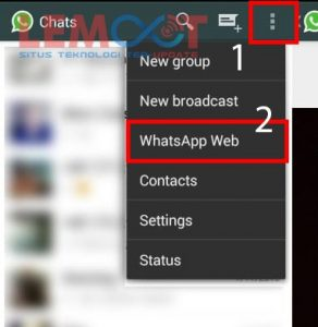 whatsapp web, whatsapp