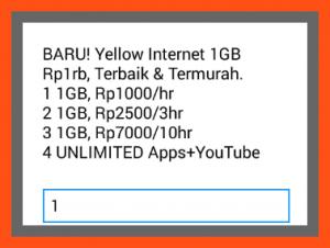 Cara Mudah Cek Kuota Paket Yellow iM3