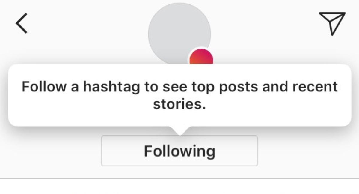 Kini Kamu Bisa Mengikuti Tagar Di Instagram Untuk Melihat Postingan Favorit
