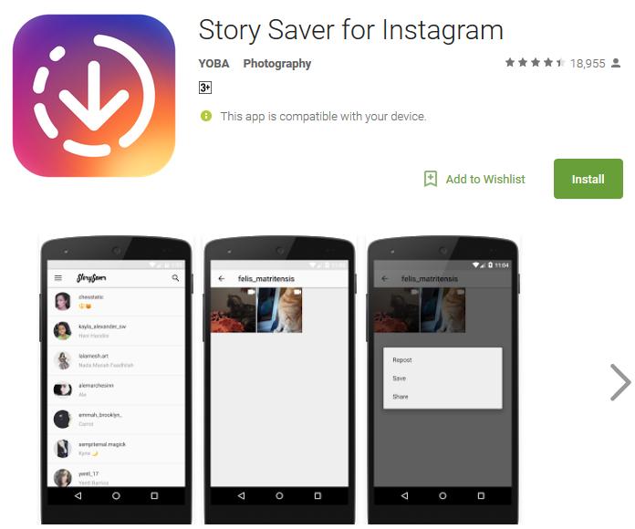 stories saver