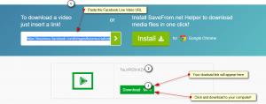 Cara Mudah Download Video di Facebook