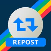 Dengan Aplikasi InstaRepost