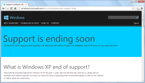 Waduh ! Microsoft Hentikan Dukungan Umum Untuk Windows 8.1
