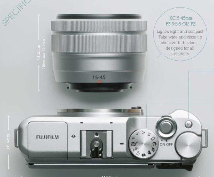 FujiFilm Luncurkan Kamera Mirrorless terbaru X-A5 untuk Selfie dan Vlog
