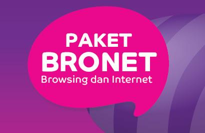 Paket internet Bronet Axis