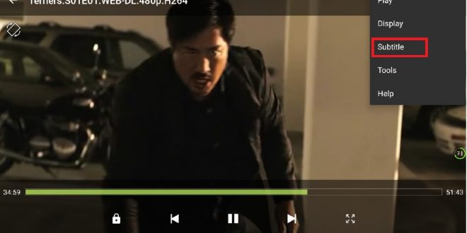 menambahkan subtitle video film android