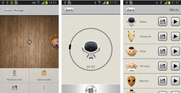 cara mengubah suara android