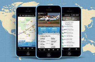 cara melacak pesawat terbang dengan Flightradar24