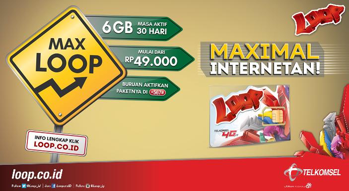 paket internet murah loop