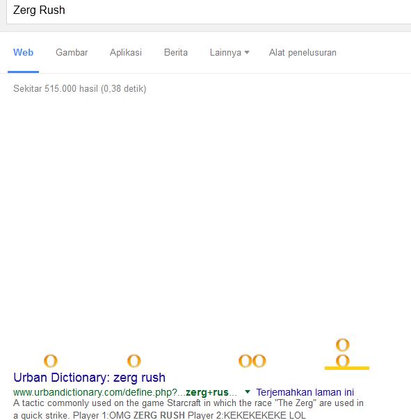 Bermain Zerg Rush Google