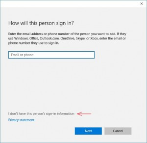 cara membuat lokal user account baru windows 10
