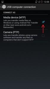 cara menghubungkan android dengan media perangkat
