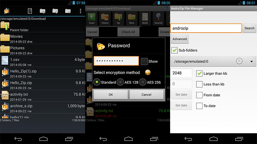 androzip android