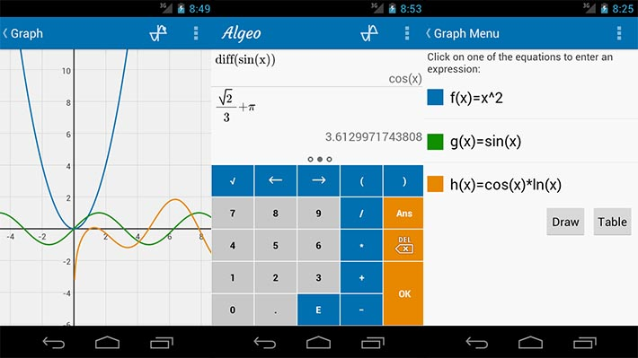 Algeo-Graphing-Calculator