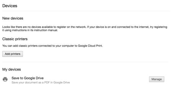 menambahkan printer pada google cloud print dari android