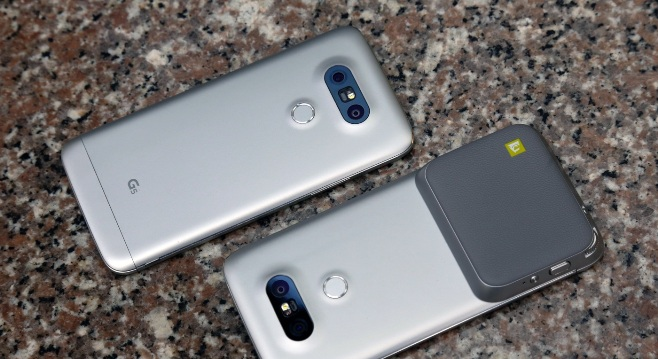 LG G5 power button
