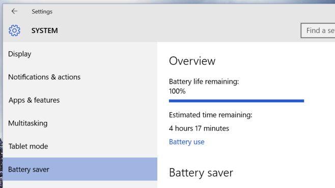 win 10 penggunaan baterai