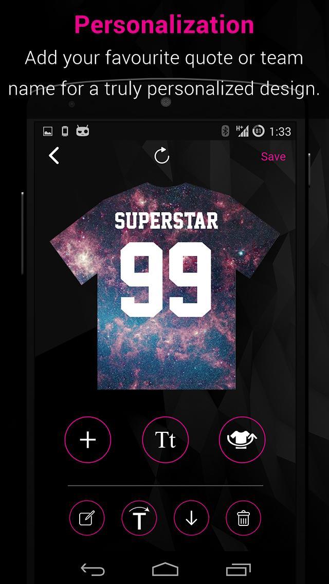 Aplikasi T-Shirt Designer- Doobie