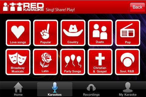 Aplikasi Karoke Red Karoke