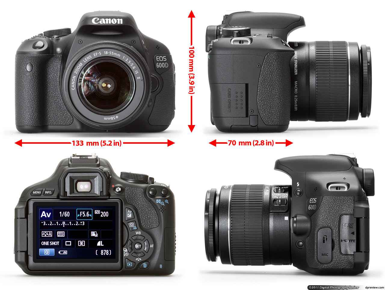 harga canon 600D, Desain Canon EOS 600D - Harga Kamera Canon 600D 2