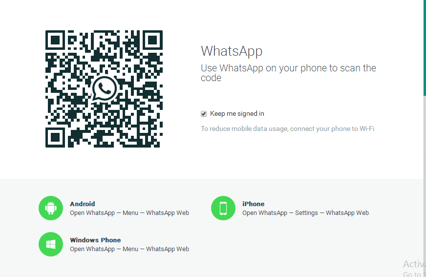whatsapp, whatsapp web, Cara menggunakan Whatsapp Web, Whatsapp Web Barcode