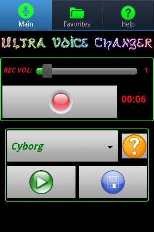 Aplikasi Ultra Voice Changer